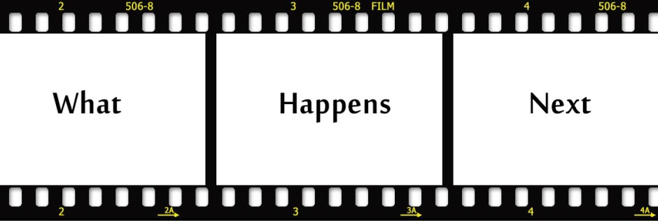 what happens next What happens next begins when teenagers cassidy murphy and her best friends, kristen and paige, leave for a high school-sponsored ski trip cassidy meets a boy on the slopes who seems nice, and seems to be very interested in her.